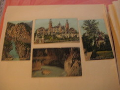 10 Poster Stamp Advertising Suisse Switserland Zwitserland Schweiz Chocolat Chromolitho  Litho ART SPRUNGLI Choclat - Erinnophilie