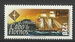 CHILE  2001 CAPE HORN SHIP  MNH - Chili