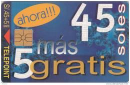 PERU - Ahora, Tirage 7000, 12/99, Used - Peru