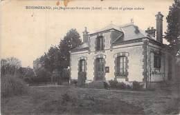 45 - BOISMORAND Par Nogent Sur Vernisson : Mairie Et Groupe Scolaire - CPA - Loiret - Autres Communes