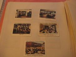 5 Poster Stamp Advertising  Litho Fischer's Fischers SOHNE DOTTIKO Sending To CHINA Damenhüte - Erinnophilie