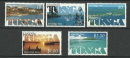 TONGA  1999  SCENES,LANDSCAPES OF VAVA'U  SET  MNH - Tonga (1970-...)