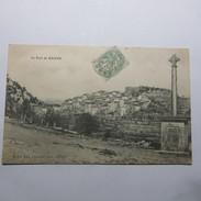 07 -  BANNE  -  Le VILLAGE En 1906 - France