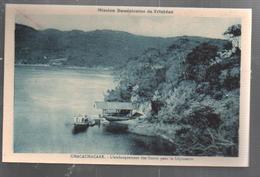 Cpa St002613 Trinité Et Tobago , Mission Dominicaine De Trinidad Chacachacare L'embarquement Des Soeurs Pour  Léproserie - Trinidad