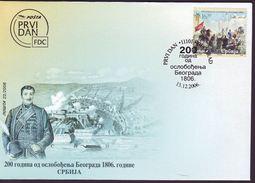 SERBIA - SRBIJA - LIBERATION  BELGRAD From OTTOMANS - PAINTING - MAPS CASTEL - 2006 - Châteaux