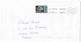 FRANCIA - France - 2010 - Lettre Prioritaire 20g - Viaggiata Da 39825A Per Royan, France - France