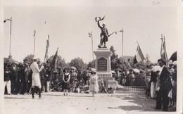Carte Photo : Salbris (41) Inauguration Du Monument Aux Morts - Salbris
