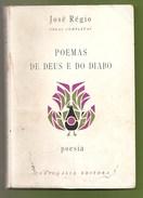 Portalegre - Poemas De Deus E Do Diabo - José Régio - Lisboa - Portugal - Livres, BD, Revues
