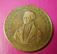 Medal Germany * 1848 * Deutsch Lands Hoffnung Und Stolz * Erzherzog Johann - Duitsland