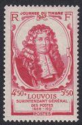 FRANCE Francia Frankreich - 1947 - Michel Le Tellier, Marquis De Louvois - Yvert 779, Neuf, Parfait, MNH - Unused Stamps