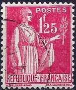 """France 1939 -  Type """"Paix"""" ( Mi 396 - YT 370 ) - 1932-39 Paix"""