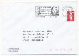 FRANCE => OMEC - B. Thimonnier, Inventeur De La Machine à Coudre - L'ARBRESLE 1993 - Lettres & Documents