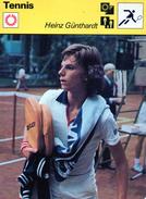 Tennis  ***  Heinz Günthardt - Tennis