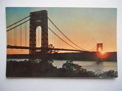 "CPSM ""The George Washington Bridge"" - Ponts & Tunnels"