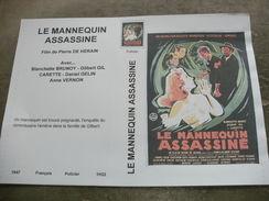 """Rare Film : """" Le Mannequin Assassiné """" - Policiers"""