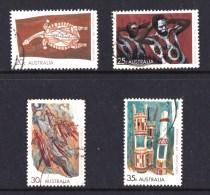 Australia 1971 Aboriginal Art Set Of 4 Used - - - Used Stamps
