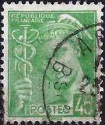 """France 1939 -  Type """"Mercure"""" ( Mi 383 - YT 414 ) - 1938-42 Mercure"""