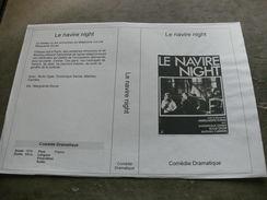 """Rare Film : """" Le Navire Night """" - Dramma"""