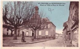 St Trivier Sur Moignans Hotel De Ville Et Place Du Marché - Bellegarde-sur-Valserine
