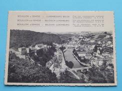 Bouillon S/ Semois La Ramonette ( C.S.P.B.) Anno 19?? ( Zie Foto Voor Details ) !! - Bouillon