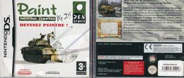 JEU NINTENDO DS PAINT MILITARY VEHICULES FRANCE NEUF EMBALLE - Nintendo Game Boy