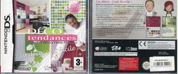 JEU NINTENDO DS DECO TENDANCE FRANCE NEUF SOUS BLISTER - Nintendo Game Boy