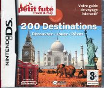 JEU NINTENDO DS 200 DESTINATIONS DECOUVREZ JOUEZ REVEZ FRANCE NEUF EMBALLE - Nintendo Game Boy