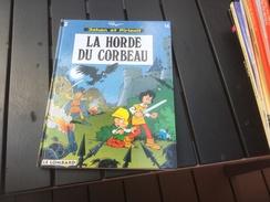 Johan Et Pirlouit La Horde Du Corbeau - Johan Et Pirlouit