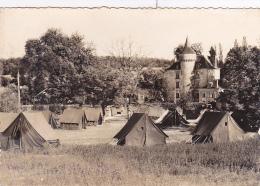 Colonie C.C.O.S. De Pelvezy (tampon E.D.F. - C.C.O.S. - G.D.F. - Camp De Toiles à Côté Château) - Saint Geniès - 1961 - Otros Municipios