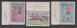 NIGER   FOOTBALL  COUPE DU MONDE 1966 +SIGNATURE  **MNH  Réf G656 - 1966 – Inglaterra