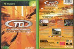 JEU XBOX TD OVERDRIVE FRANCE PAL COMPLET FONCTIONNE - X-Box