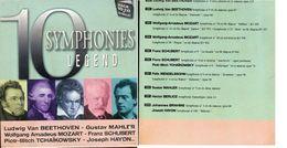 PACK 10 CD + CD WALLET 10 SYMPHONIES LEGEND NEUF SOUS BLISTER - Music & Instruments