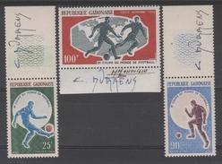 GABON  FOOTBALL COUPE DU MONDE 1966 +SIGNATURE  **MNH  Réf G655 - 1966 – Inglaterra