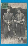 MANS TA PAN   Homme Et Femme    écrite En 1908 - Viêt-Nam