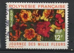 POLYNÉSIE - FLORE    N° Yt 84 OBLITERE - French Polynesia