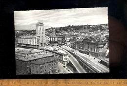 LAUSANNE Vaud : Le Grand Pont Et La Tour Bel Air  1958  / Le Metropole - VD Vaud