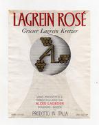 Vino Lagrein Rosè - Cantina Alois Lageder - Bolzano -  (FDC2823) - Vino Rosato