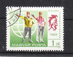 Ungheria   Ungarn -   1969. Tiro Con La Pistola. Shooting Gun - Tiro (armi)