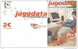 Montenegro-Jugodata Compaq, DUMMY CARD(no Chip,no Code) - Montenegro