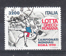 Italia  -  1990.Mondiali Di Lotta. World Championship Wrestling - Lotta