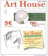 Montenegro-Art House, DUMMY CARD(no Chip,no Code)