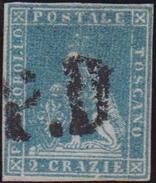 ASI TOSCANA 1851 2 C. Azzurro Chiaro Su Grigio N.5 Usato
