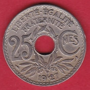 France 25 Centimes Lindauer 1927 - F. 25 Centesimi
