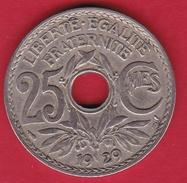 France 25 Centimes Lindauer 1929 - F. 25 Centesimi