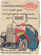 Graissage Continu Metro ( Système Bras Articulé ), Société Dian, Paris 13e - Publicités