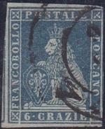 ASI TOSCANA 1851 6 C. Ardesia Su Grigio N.7 Usato