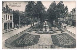 FR-3375    MONTLUCON : Avenue De La Gare - Montlucon