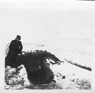 Photo Ancienne Originale Tranchée Abri 1914 1918 Ww1  Grande Guerre Poilus - Krieg, Militär