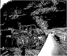 Photo Ancienne Originale Abri Troglodyte Grottes Repos Attelage 1914 1918 Ww1  Grande Guerre Poilus - Guerra, Militari