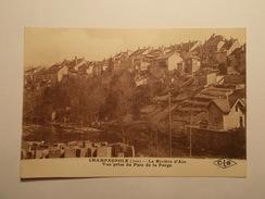 Carte Postale - CHAMPAGNOLE (39) - La Rivière D'Ain - Vue Prise Du Parc De La Forge (199/130) - Champagnole